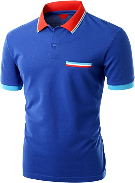 BE Steel My Heart-1 Mens Short Sleeve Polo Shirt Classic-Fit Blouse Sportswear