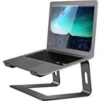 Soundance Aluminum Laptop Stand for Desk Compatible with Mac MacBook Pro Air Apple Notebook, Portable Holder Ergonomic…