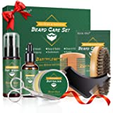 Kit Set Cuidado Barba con Libre Champu Barba,Peine Barba,Cepillo ...