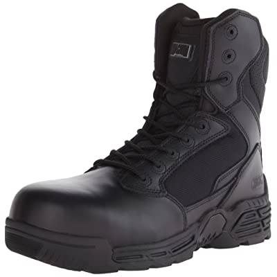 Magnum Men's Stealth Force 8.0 Side Zip Composite Toe Boot: Shoes