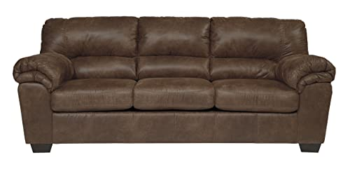Bladen-Contemporary-Plush-Upholstered-Sofa-Artificial-Leather