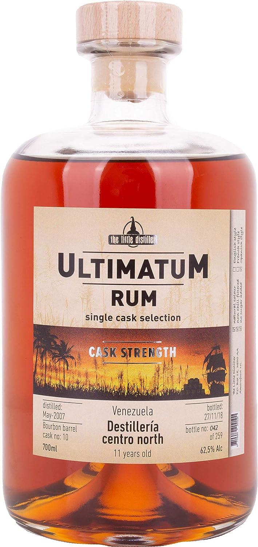 Ultimatum Rum Single Cask Selection Destilería Secreta 12 Años de Edad Ron - 700 ml