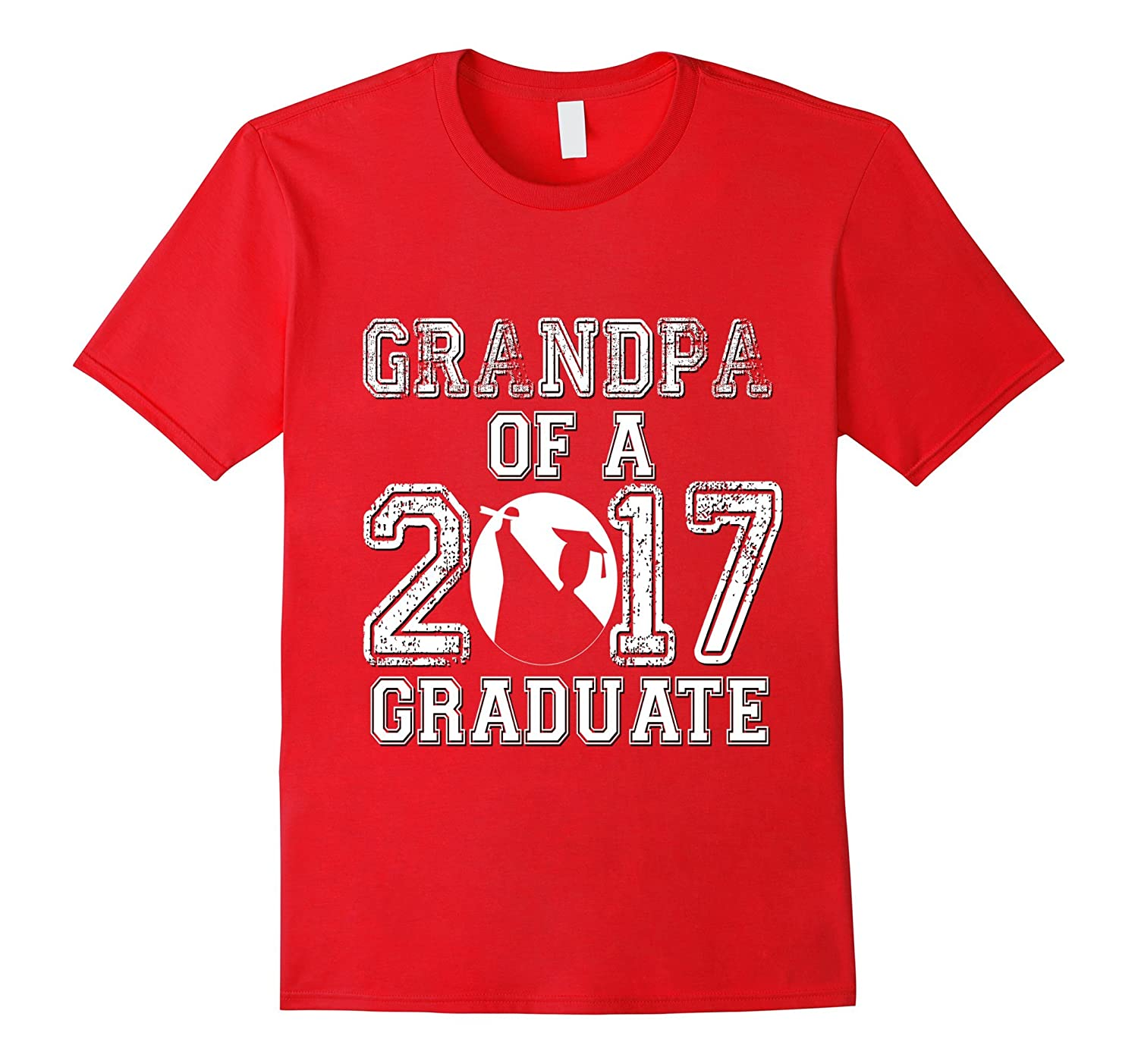 Class of 2017 Shirt Graduation Varsity Matching Grandpa-Vaci