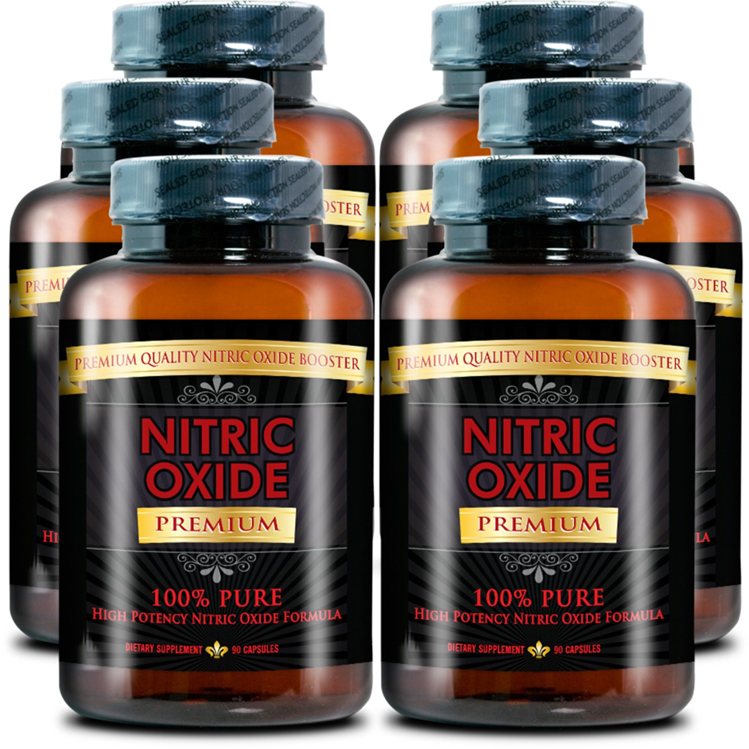 NITRIC OXIDE PREMIUM -#1 Nitric Oxide Supplement on market - with L-Arginine (AAKG) and L-Citrulline - 100% Money Back Guarantee - 6 Month Supply