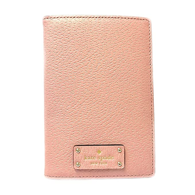 49a423cb6284 Kate Spade Leather Passport Holder Case