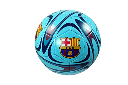 bad0eb6f26f Image Unavailable. Image not available for. Color: FC Barcelona Authentic  Official Licensed Soccer Ball Size 5 - 10-1