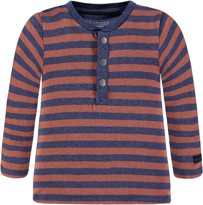 b69d902d4f30d Bellybutton Kids Jungen Langarmshirt T-Shirt 1 1 Arm Mehrfarbig (Y D ...