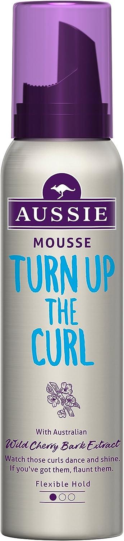 Mousse moldeadora Turn up the Curl de Aussie - envase de 6