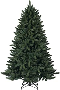 Tree Classics Heritage Balsam Spruce Artificial Christmas Tree, 7 Feet, Unlit
