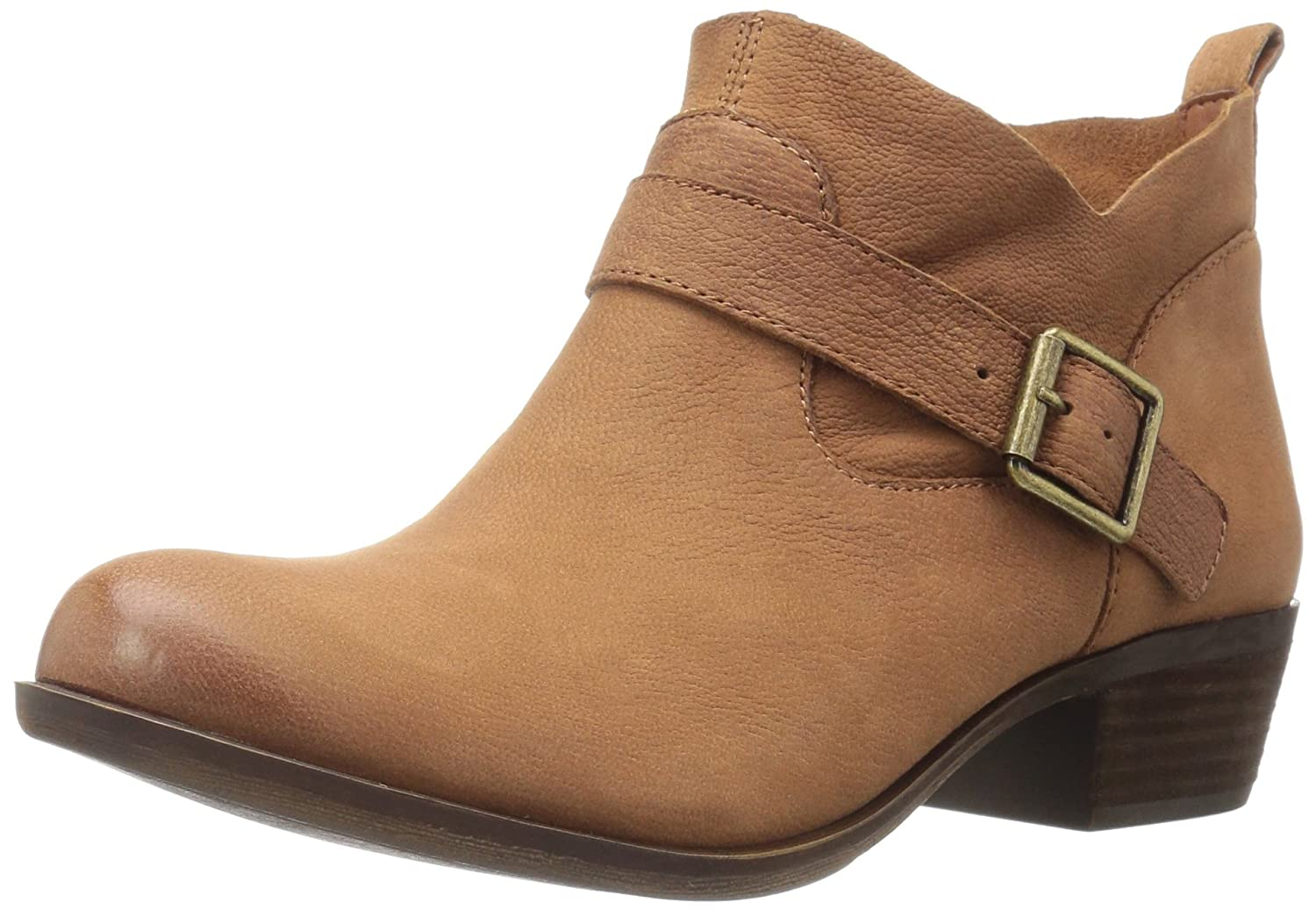 Lucky Brand Women's Boomer Boot B01FXC1CO2 8 B(M) US|Whiskey Brown