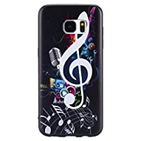 LoveDua Samsung Galaxy S6 Edge Case,Premium Mobile Phone Case Wallet Fancy Design Pattern cover for Samsung Galaxy S6 Edge[With Free Screen Protector]
