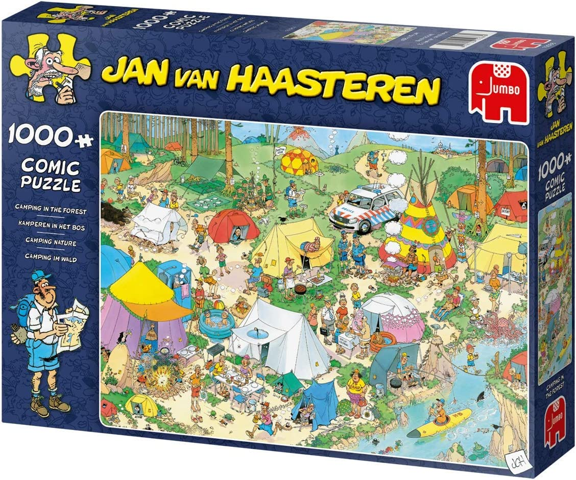 Camping in the Forest Jan van Haasteren 19086 1000 piece Jigsaw Puzzle