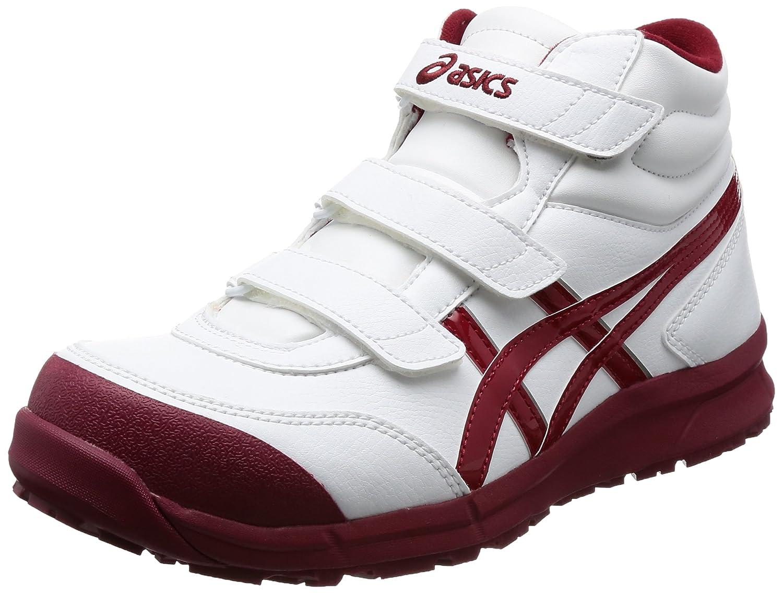 [アシックスワーキング] 安全靴/作業靴 作業靴 ウィンジョブCP302 B074MVNBVZ 27.5 cm|ホワイト/バーガンディ ホワイト/バーガンディ 27.5 cm