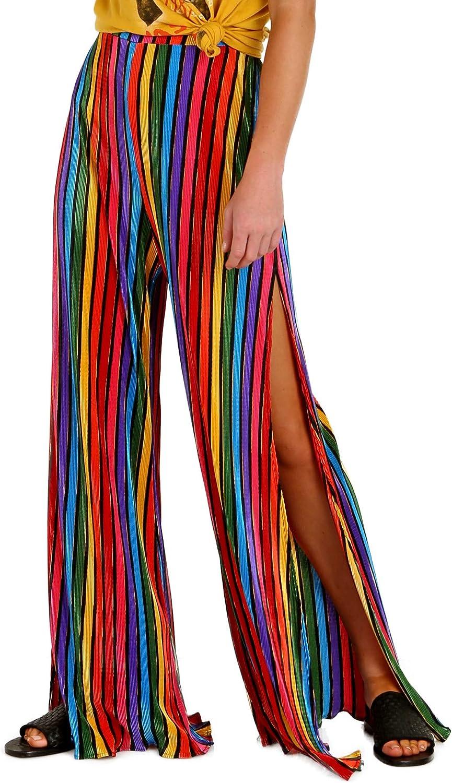 FREE SHIPPING! Rainbow Snake Bellbottom Pant