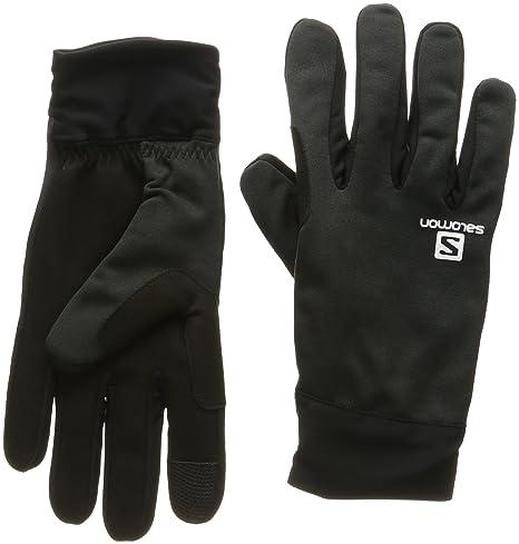: Salomon Women's Discovery Gloves, Black, X