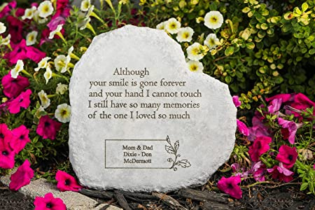 Heart Dad Personalised Heart Memorial Weatherproof