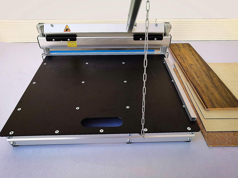 20-inch Pro Flooring Cutter,For Laminate, Engineered flooring,Carpet tile, MDF, SPC, LVP, LVT, VCT, WPC, Vinyl flooring, Vinyl siding, Dura Ceramic Tile,Rubber,Foam tiles and more.MC-510,Best buy !