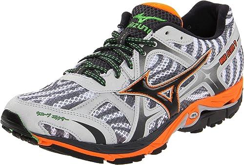 85281b14587c Mizuno Men's Wave Elixir 7 Running Shoe,White/Anthracite,15 D US ...