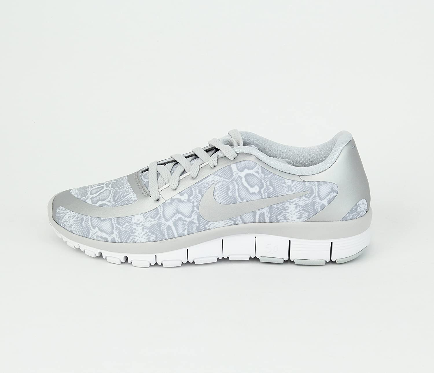 Nike Zapatillas air mogan 2 5.5 B(M) US|Blanco/Plateado