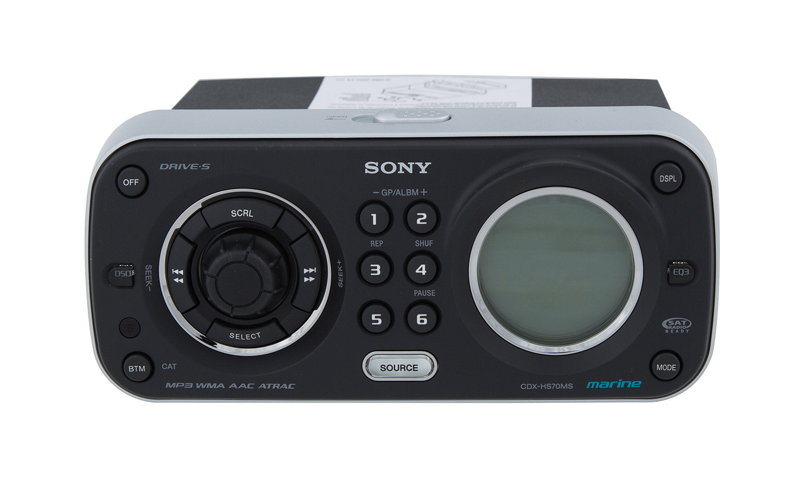 Sony CDX-HS70MS Marine Stereo Radio and CD Player by Sony