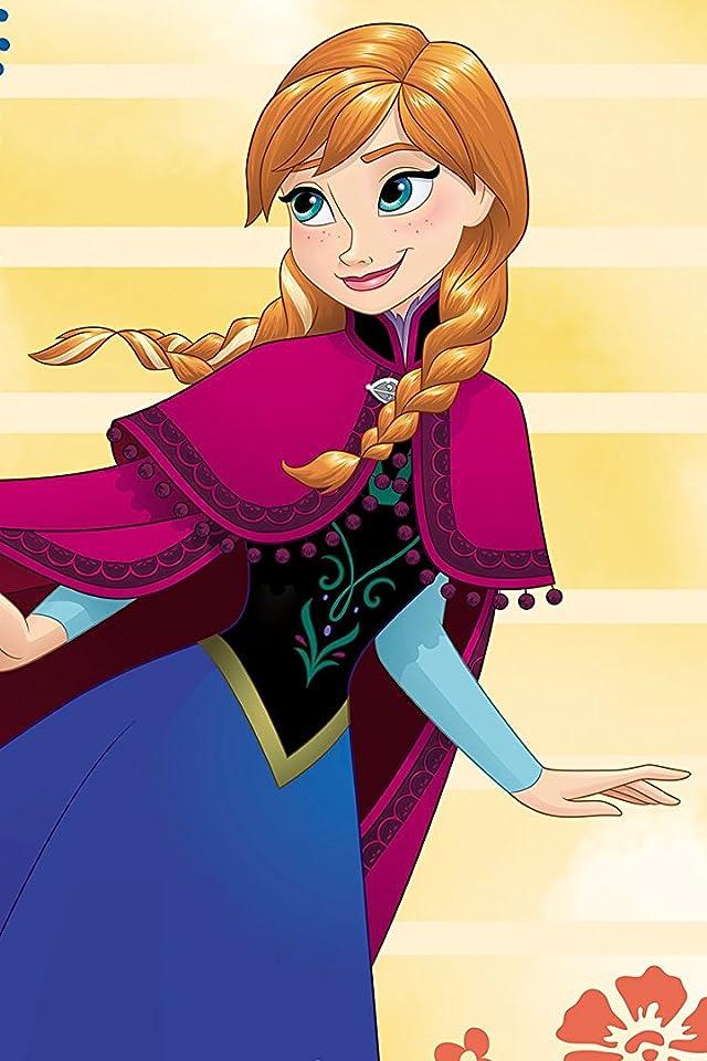 ディズニー 『アナと雪の女王』アナ iPhone(640×960)壁紙画像