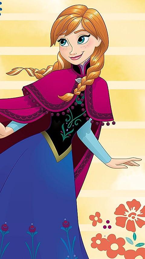 ディズニー 『アナと雪の女王』アナ XFVGA(480×854)壁紙画像