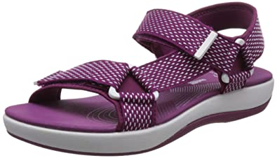 5dc01dad472c Clarks Brizo Cady Womens Casual Rip Tape Sandals  Amazon.co.uk ...