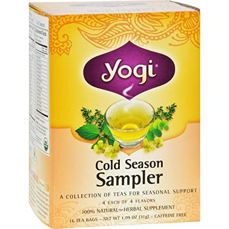 Health food specialists brands products yogi teas cold weather.