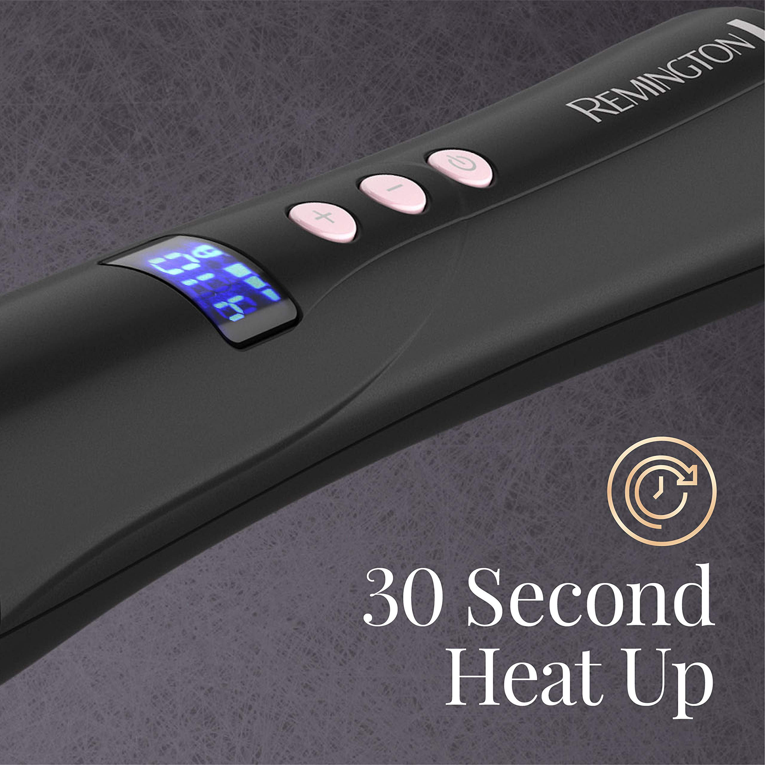 Remington Pro 1'' - 1 ½'' Curling Wand with Pearl Ceramic Technology and Digital Controls, CI9538 by Remington (Image #5)