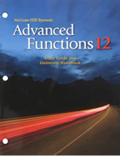 Functions and Applications 11 Student Success Workbook: Student