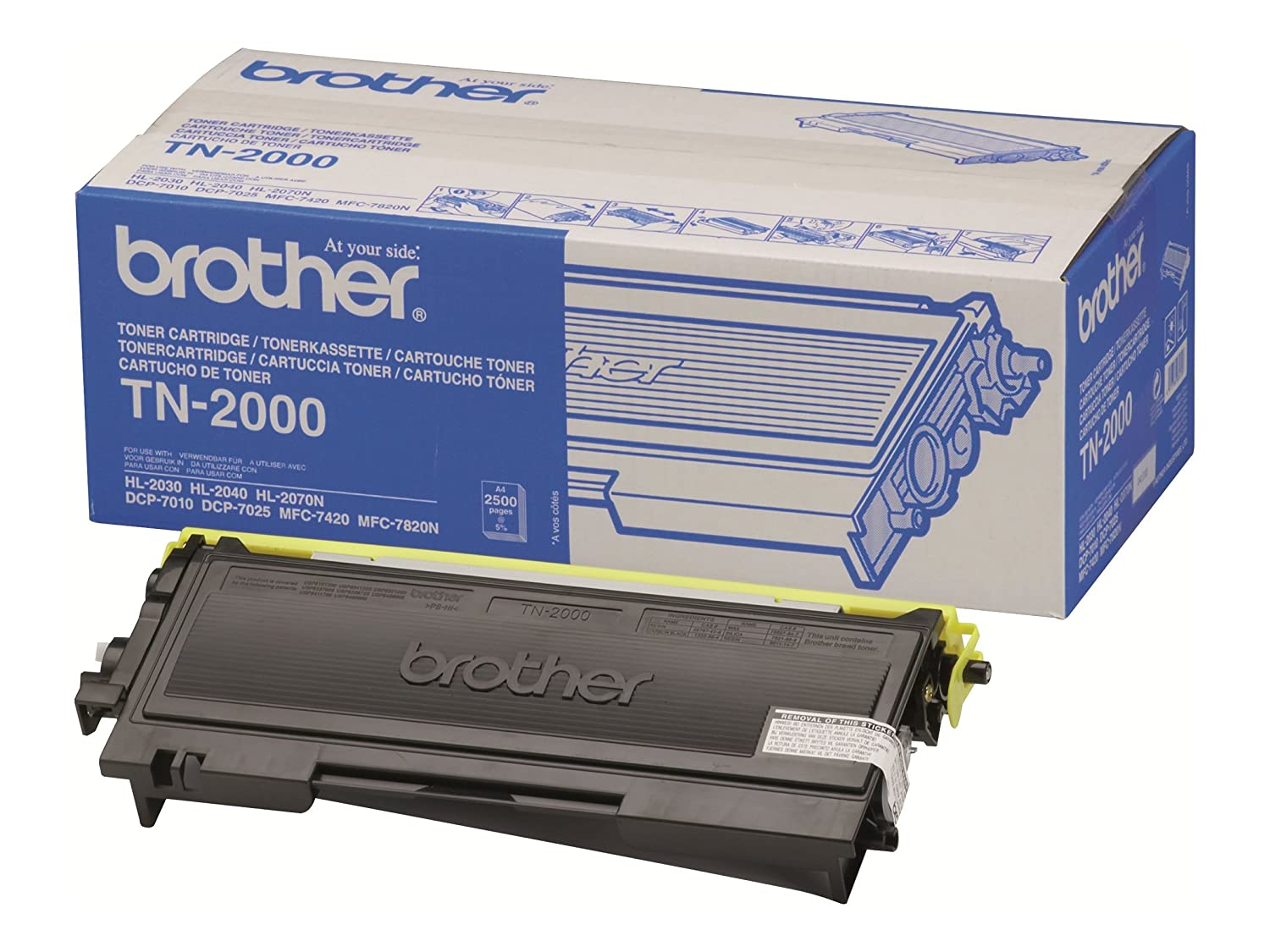Brother TN-2000 | Cartouche de toner original | Noir 854760