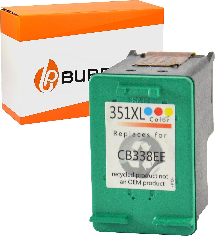Bubprint Druckerpatrone Kompatibel Für Hp 351 Xl 351xl Für Deskjet D4260 D4360 Officejet J5730 J5780 J5785 J6400 Photosmart C4200 C4280 C4380 Farbe Bürobedarf Schreibwaren