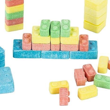 12 x Building Brick Blocks Pre-Filled Party Bag 8 Piece sets