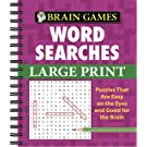 Brain Games - Word Searches - Large Print