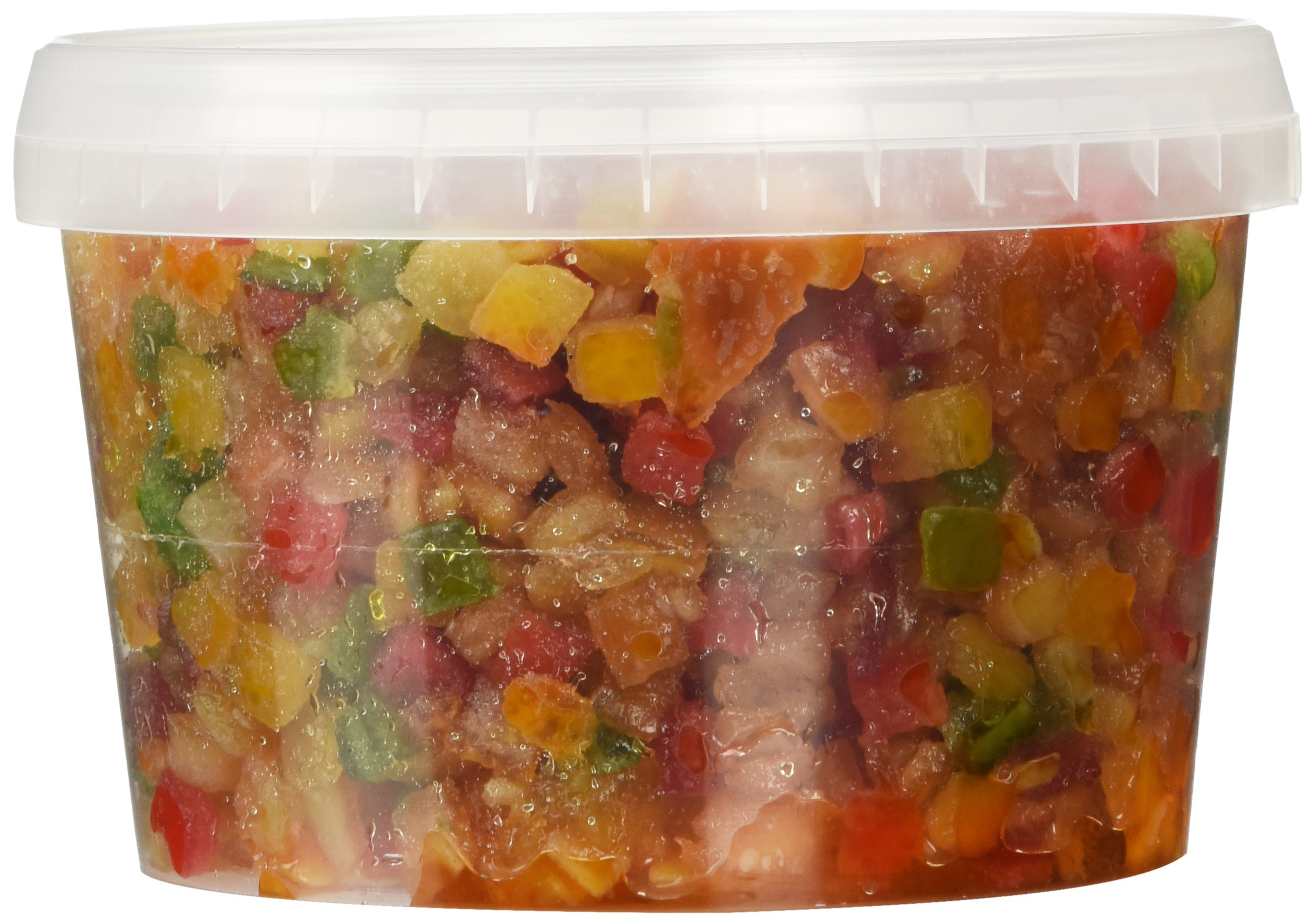 Candied Mixed Fruit, Diced, 1 lb.