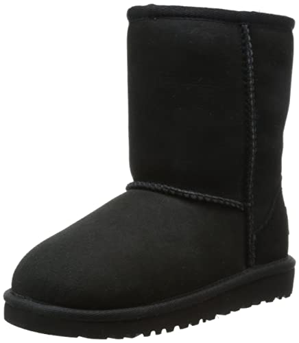UGG Kids Classic (Toddler/Little, Black, 10 M