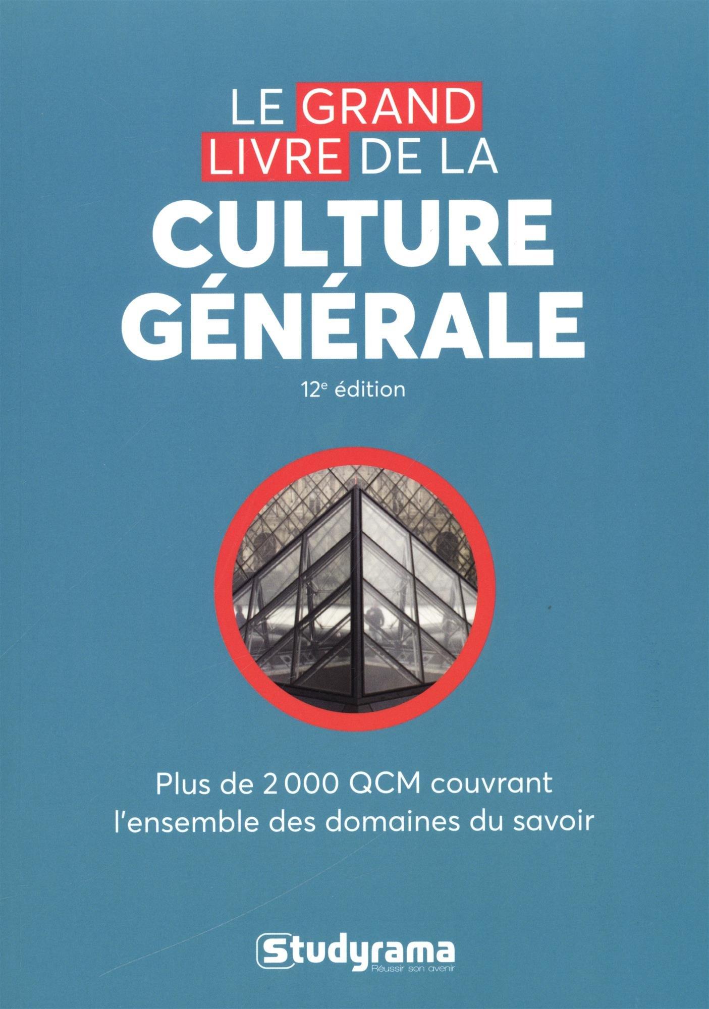 Le grand livre de la culture générale (French) Paperback – April 10, 2018