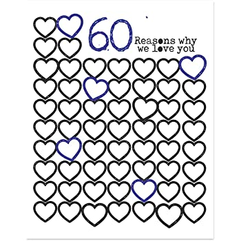 Amazon Lucia And Luciana Personalized 60th Birthday Poster