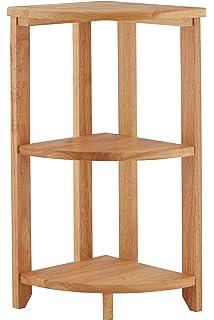 Amazing Premier Housewares Corner Shelf Unit 3 Tier   66 X 30 X 30 Cm,