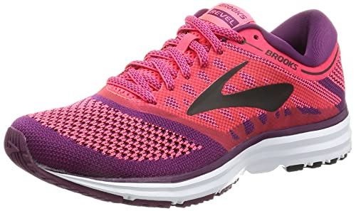 248afd70f6a Image Unavailable. Image not available for. Colour  Brooks Women s Revel  Diva Pink Plum Caspia Black Athletic Shoe