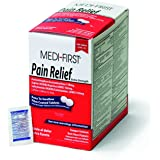 Medi-First 81113 Pain Relief Tablets, 250 packets of 2