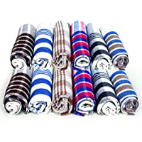 """Yuveen Kitchen Cloth Table Napkin Multipurpose Dusting Towel (Multi-Coloured) Size 17""""x17"""" Pack of 10"""