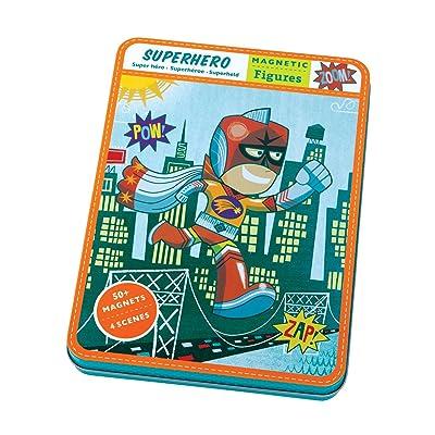 Mudpuppy Superhero Magnetic Figure: Mudpuppy, Guidera, Daniel: Toys & Games