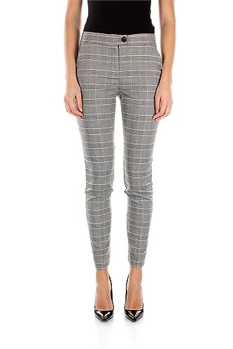 B5P10PSKA Armani Jeans Pantalones Mujer Poliéster Gris