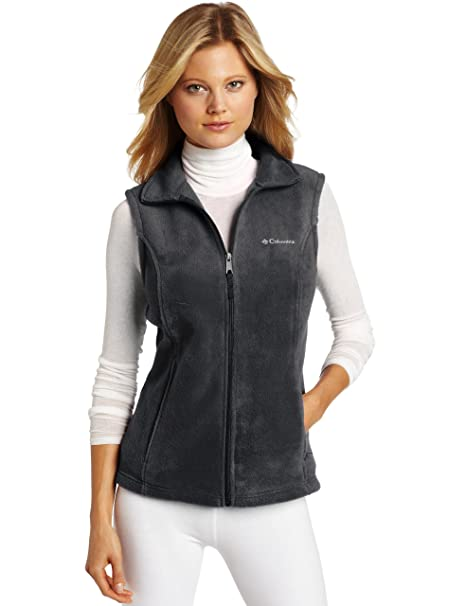 Columbia Women's Benton Springs Vest, Charcoal/Heather, X-Small