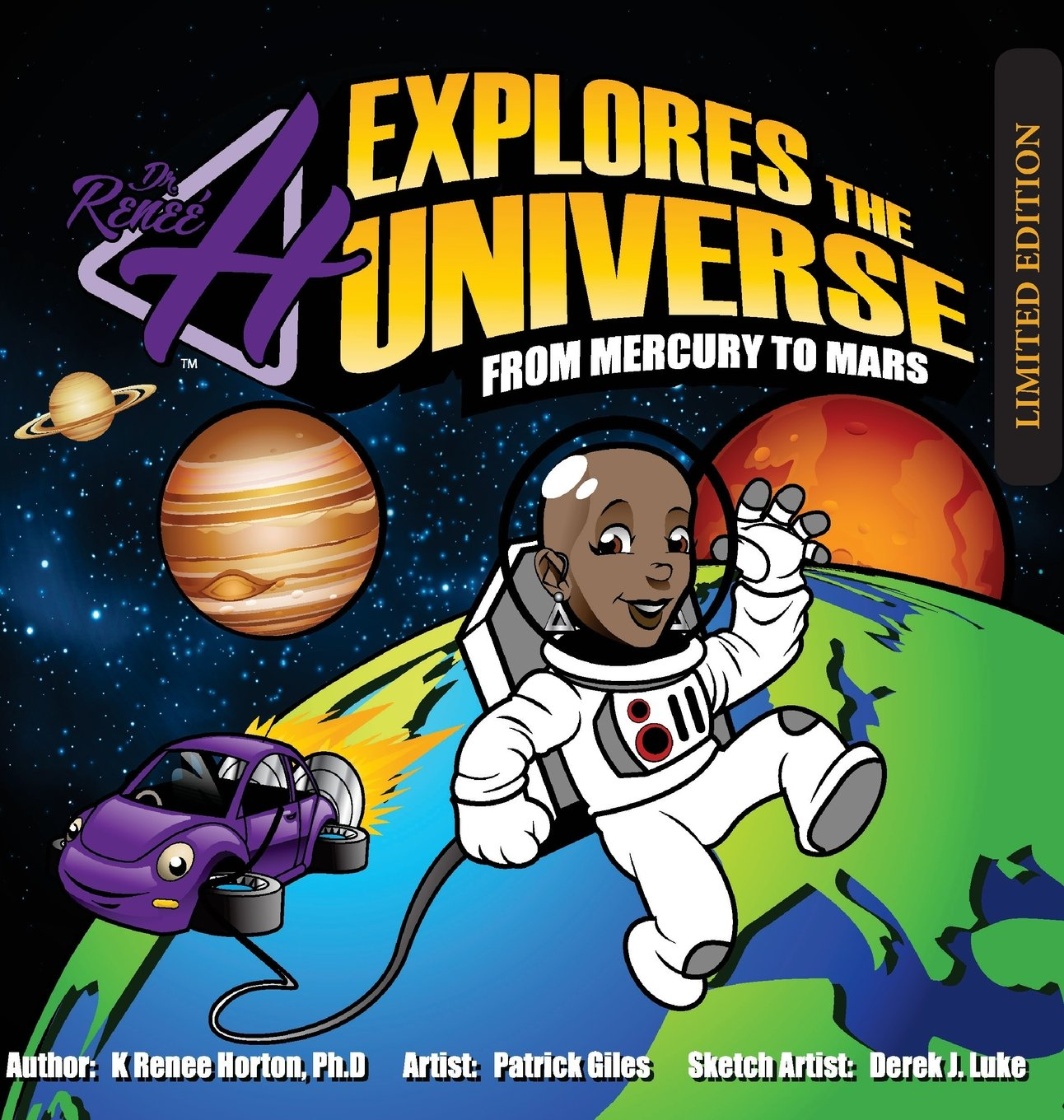 Dr. H Explores the Universe - Limited Edition: Mercury to Mars (Dr. H Explores the Universe - Mercury to Mars)