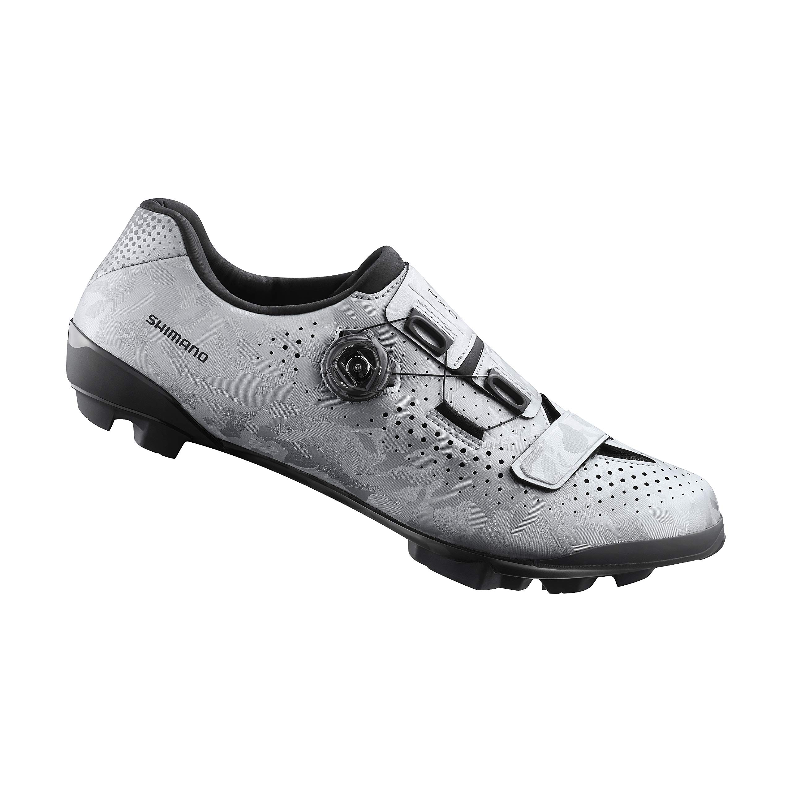 SHIMANO SH-RX800 Bicycles Shoes, Silver, 44.0 by SHIMANO