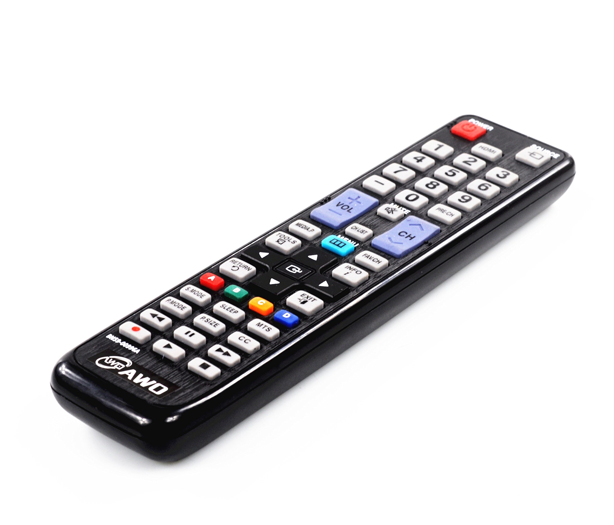 AWO BN59-00996A New Replacement TV Remote Control BN59-01178W BN59-00997A BN59-01199F AA59-00594A BN59-01179A AA59-00594A AA59-00600A AA59-00652A AA59-00666A For SAMSUNG UN55HU6830F UN55HU6830FXZA