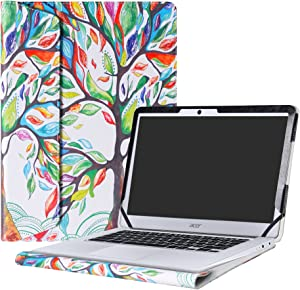 "Alapmk Protective Case Cover for 14"" Acer Chromebook 14 CB3-431 Series Laptop(Not fit ACER CHROMEBOOK 14 for Work CP5-471 Series),Love Tree"