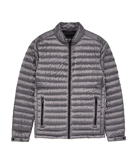 Zara - Chaqueta - para hombre gris gris S: Amazon.es: Ropa y ...